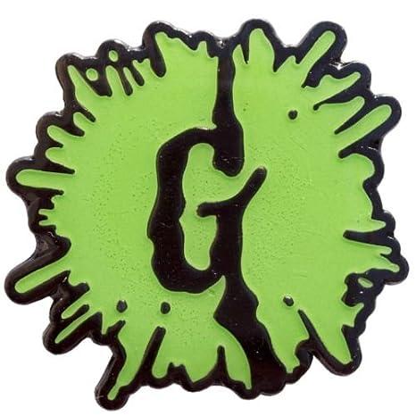 Goosebumps G Splat Logo Enamel Pin brilla en la oscuridad ...
