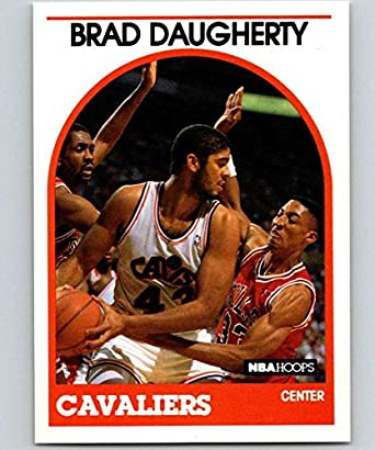 e1ff6b5a3e66e Amazon.com: 1989-90 Hoops #50 Brad Daugherty Cavaliers NBA ...