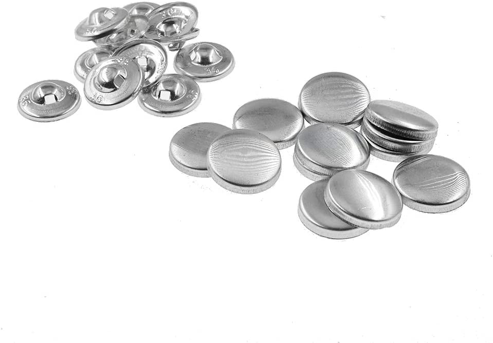 AVA Prime 100 Buttons to Cover Self Cover Buttons with Hump Backs 30# /ø18mm