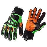 Ergodyne ProFlex 925F(x) Dorsal Impact-Reducing Gloves, Large