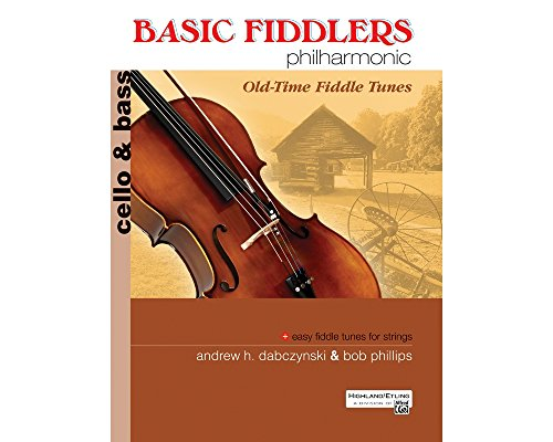 Alfred Basic Fiddlers Philharmonic Old-Time Fiddle Tunes Cello/Bass Book ()