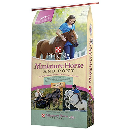 Purina Animal Nutrition Purina Mini Horse and Pony 50lb Textured by Purina Waggin' Train