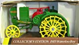 "Collectible Ertl John Deere 1915 Model ""R"" Waterloo Boy Die-Cast Tractor 1:16 Scale"