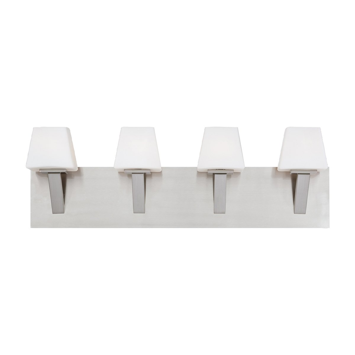 Eurofase 23043-022 Anglo 4-Light Bath Bar Bathroom Light Bulb, Satin Nickel by Eurofase  B007XAHMX8