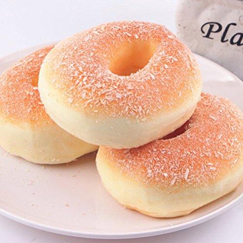 Squishy Uae : Jumbo Squishy Food Bagels Bread, 1 Piece in Dubai - UAE Whizz Miniatures