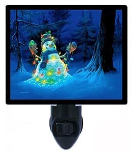 Christmas Night Light - Let it Glow Snowman - LED NIGHT LIGHT