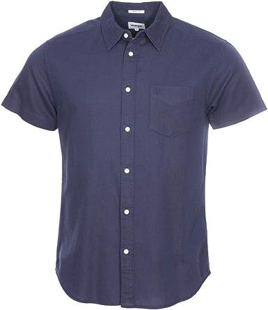 Wrangler SS 1pkt Shirt Camisa, Azul (Navy O35), XXX-Large para Hombre: Amazon.es: Ropa y accesorios