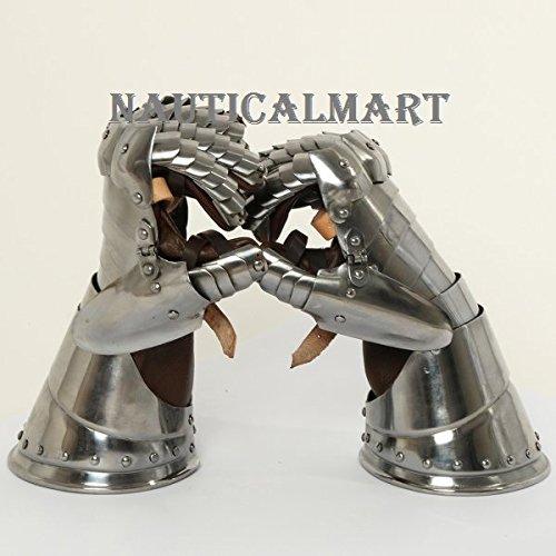 Medieval Knight Italian Style Gauntlet Set By Nauticalmart by NAUTICALMART (Image #4)