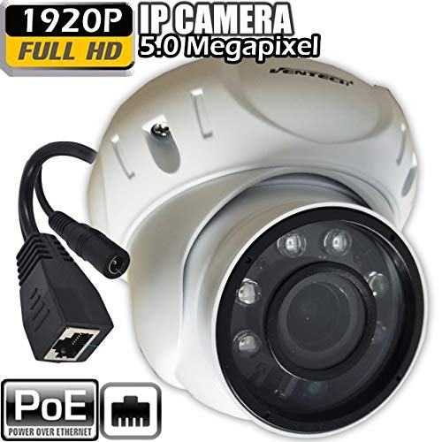 IP poe Dome Security Camera with Motorized Zoom 5mp Outdoor onvif 1920p For Sale