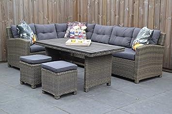 lounge gartenmöbel set Granada mit Esstisch: Amazon.de: Garten
