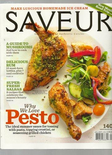 Saveur Magazine August/September 2011 #140 (single issue)