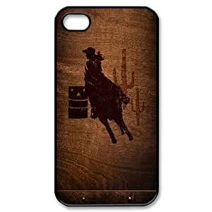 Cowgirl iPhone 5/5S Case Cowgirl Racing Horse Desert Red Case Cover Country Girl