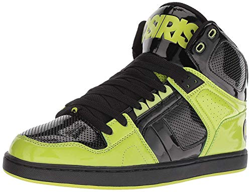 a9e4f57ec5 #Osiris NYC 83 CLK Black Lime Mens Skate Mid Trainers Boots