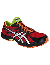 Asics Gel Fujiracer 3 Men's Running Shoes Fire Red/Silver/Black (10)