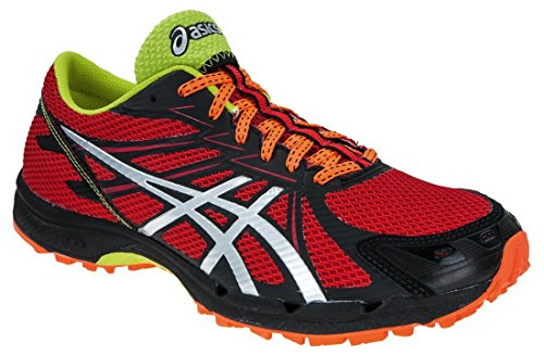 Asics Gel Fujiracer 3 Mens Running Shoes Fire Red/Silver/Black bAy0UU