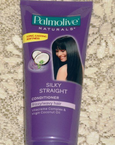 Palmolive Naturals Silky Staight Conditioner Frizzy Wavy Hair 180Ml