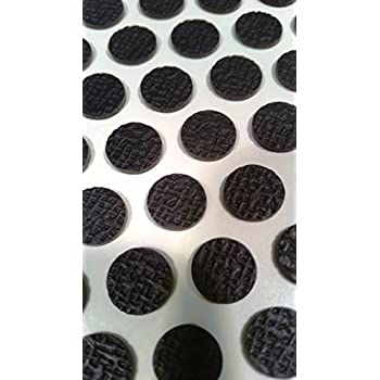 50 Non Slip Rubber Protector Pads Self Adhesive Will