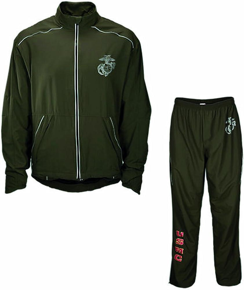 New Balance US Marine Corps - Chaqueta/Pantalones para Correr, S ...
