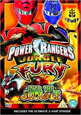 Power Rangers: Jungle Fury Vol. 1: Into the Jungle DVD by ...