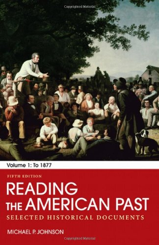 Cheapest Copy Of Reading The American Past Volume I To