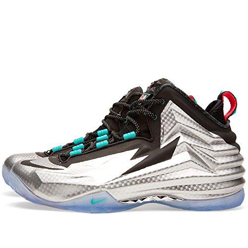 Nike Chuck Posite Mens Shoes Metallic Silver/Black 684758-001 (15)
