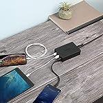 AUKEY-Quick-Charge-30-Caricatore-USB-da-Muro-6-Porte-60W-Caricatore-USB-per-Samsung-Galaxy-S8-Note-8-LG-G5-G6-Nexus-5X-6P-HTC-10-iPhone-XSXS-MaxXR-iPad-ECC