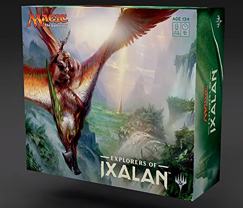 Magic the Gathering(MTG): Explorers of Ixalan Super Deck Collection Set (Mirage Tile)