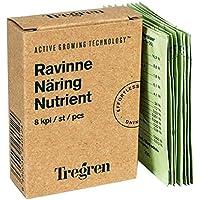 Tregren Nutriments spécial culture d'intérieur pour potager d'intérieur- 8 petits sachets de nutriments pour 1 an de croissance et floraison optimale!