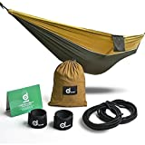5 Reasons you choose Odoland hammock Soft - High fiber breathable 210T nylon of 400-pound capacity with diversified color and soft to touch.  Durable - Seamless triple interlocking stitching to maximize hammock strength.  Sturdy - Sturdy hanging ...