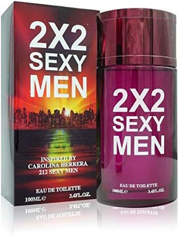 Watermark Beauty 2X2 Sexy Men 3.4 Fl Oz Eau De Toilette Inspired by 2I2 Mens Cologne