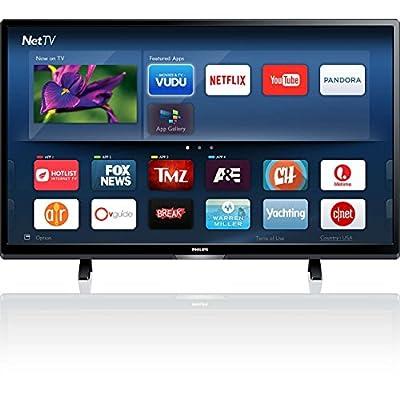 """Phillips50PFL5601/F74k50""""LED TV, Black(Certified Refurbished)"""