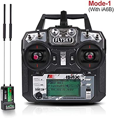 Flysky FS-i6X Transmisor (10CH, 2.4GHz, AFHDS 2A) RC Transmitter ...