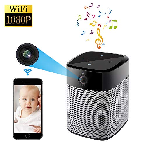 StartVision Security IP Camera, 1080P Wifi Hidden Camera with Motion Detection Night Vision and Two Way Audio, Wireless Bluetooth Speaker with Stereo Surround Sound Enhanced Bass