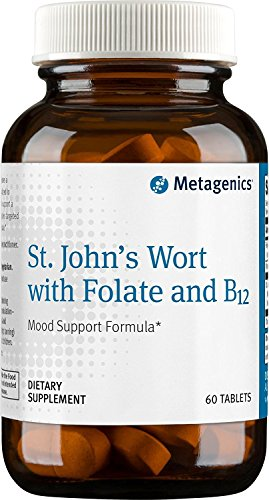 Metagenics St. John s Wort with Folate and B12 — 60 Tablets