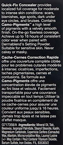 Dermablend Quick-Fix Full Coverage Concealer, 10C Natural, 0.16 Oz. by Dermablend (Image #10)