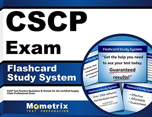 CSCP Exam Flashcard Study System: CSCP Test Practice Questions & Review for the Certified Supply Chain Professional Exam (Cards)