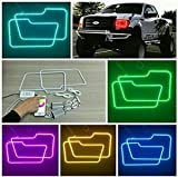Vivid Light Bars RGB Halo Headlight Kits for 2009-2014 Ford F150 with Bluetooth Remote