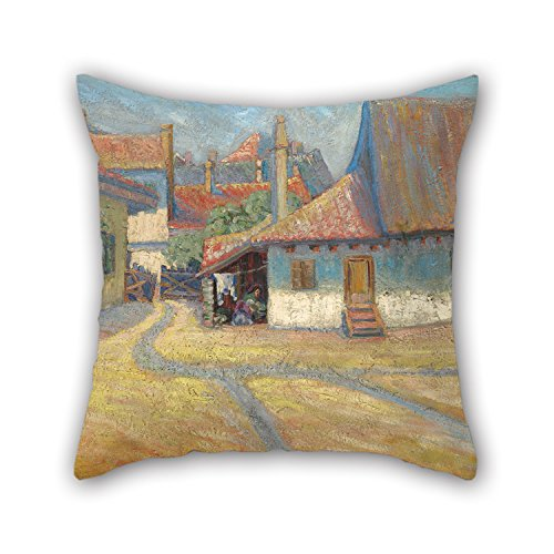 [Beautifulseason 20 X 20 Inches / 50 By 50 Cm Oil Painting Nadežda Petrović - Belgrade Suburb Cushion Cases,double Sides Is Fit For Boys,dance Room,him,indoor,husband,deck] (Shrek Dance Costume)