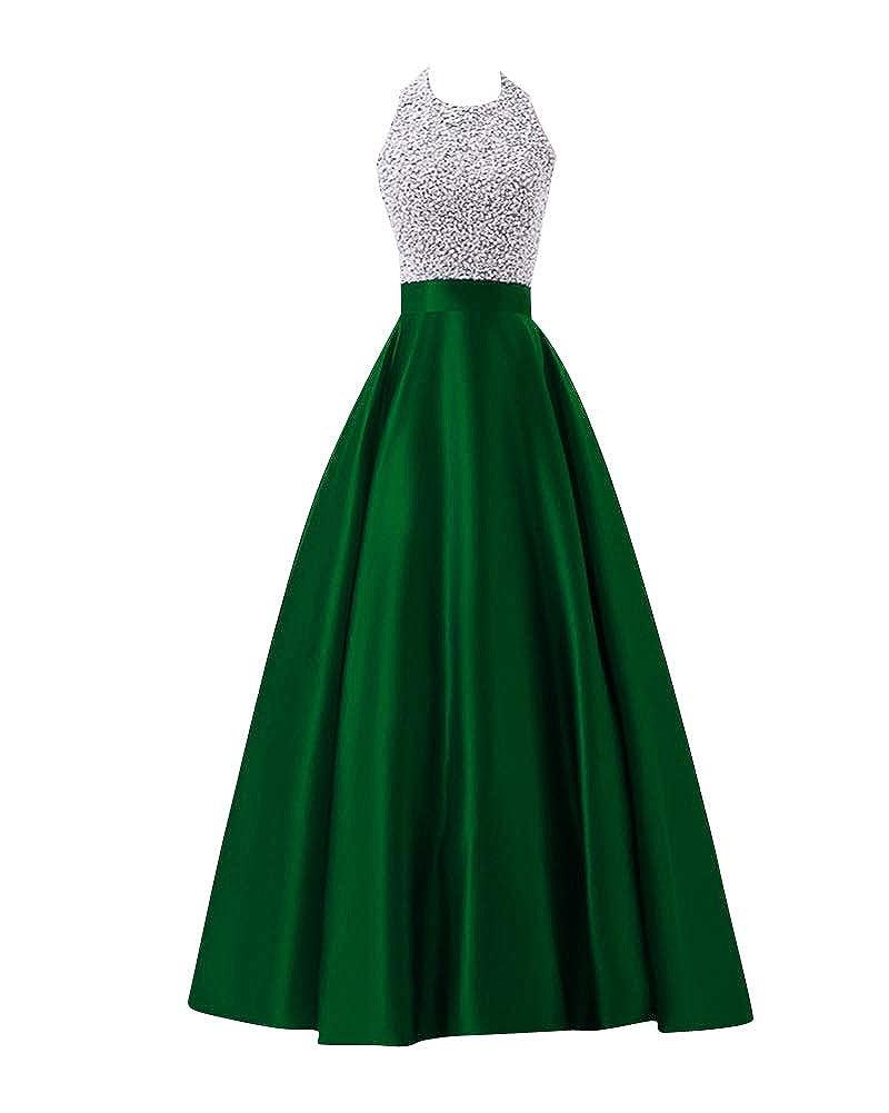 PengGengA Donna Elegante Vestiti da Matrimonio Abito Lunghi Vestito Formale Banchetto Sera