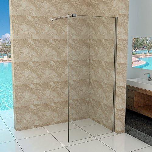 Walk-in vidrio de 10 mm – Mampara de ducha 30 – 140 cm: Amazon.es ...