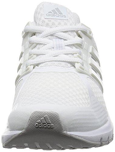adidas Duramo 8 W, Zapatos Para Correr Mujer Blanco (FTWWHT/CRYWHT/LGSOGR)