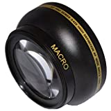 Macro Professional - 55mm .43x Wide Angle Macro Lens for Nikon AF-P DX NIKKOR 18-55mm F3.5-5.6G VR Lens, Macro USM 55mm Wide Angle Lens 55mm Lens, 55mm Lens - Shop Smart!