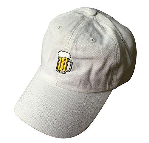 7c270e397e52c Beer Mug Dad Hat - Unstructured -White - Buy Online in Oman ...