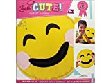 Sew Cute Emoji Smile Pillow Felt Kit