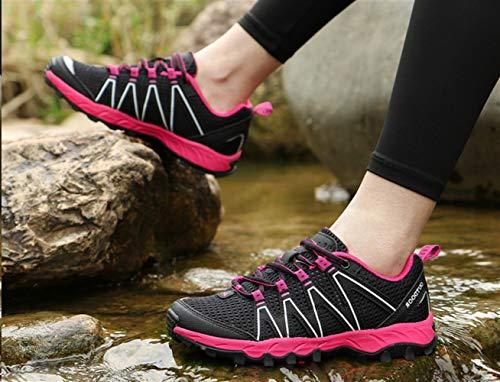 traspirante trekking Scarpe Women primavera Insun da e nero Estate allacciata Sport impermeabile confortevole qPant1nW