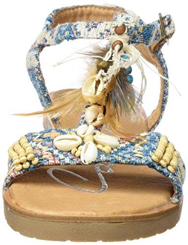 Coolway Damen Tequila Sandalen mit Knöchelriemen Mehrfarbig