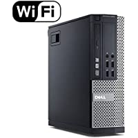 DELL OPTIPLEX 9020 Slim Business Desktop Computer Small Form Factor (SFF), Intel Quad-Core i5-4570 Up to 3.6GHz, 8GB RAM, 500GB HDD , DVD, WiFi, VGA, Windows 10 Pro 64 Bit (Certified Refurbished)