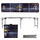 NCAA North Carolina Greensboro Spartans Weathered Version Folding Tailgate Table, 8'