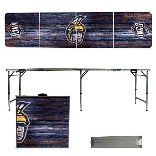 NCAA North Carolina Greensboro Spartans Weathered Version Folding Tailgate Table, 8' by Victory Tailgate
