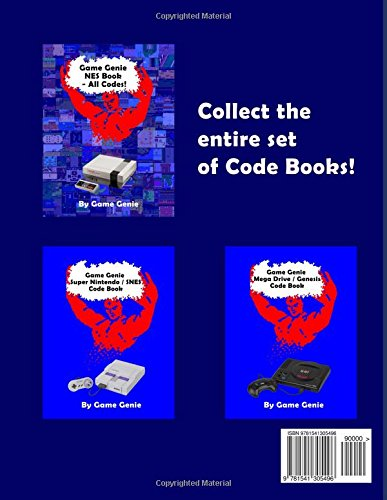 <b>Game Genie NES</b> Book - All <b>Codes</b>!: <b>Game Genie</b>: 9781541305496 ...